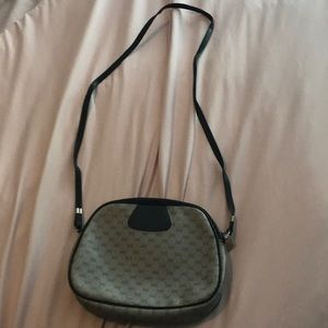 Gucci Bags - Vintage navy Gucci purse